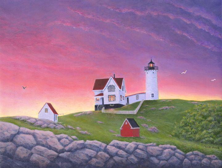 Nubble Lighthouse - Judith Monette