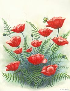 Poppy Patch - Judith Monette