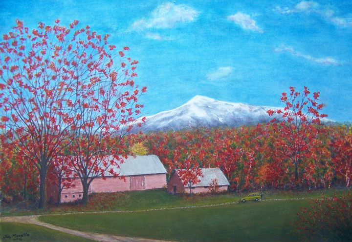 Vermont Autumn - Judith Monette