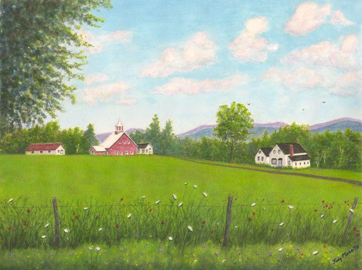 Summertime in Vermont - Judith Monette