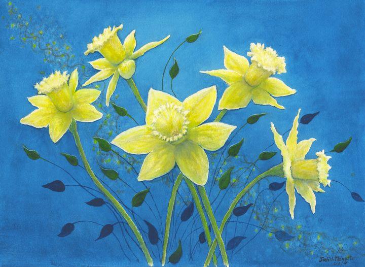 Daffodil Welcome - Judith Monette