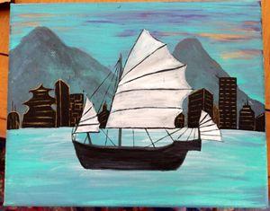 Junk Sailing