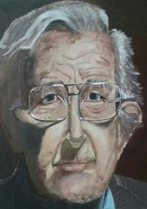 Portrait of Noam Chomsky