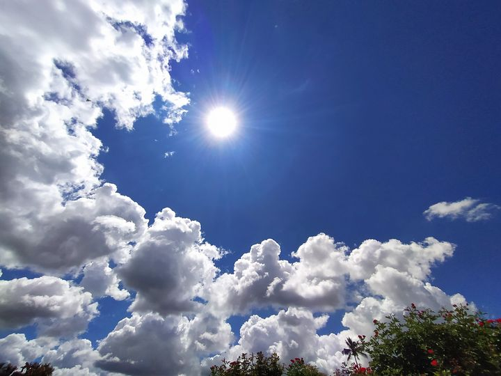 Cloudy Blue sky - Kiran