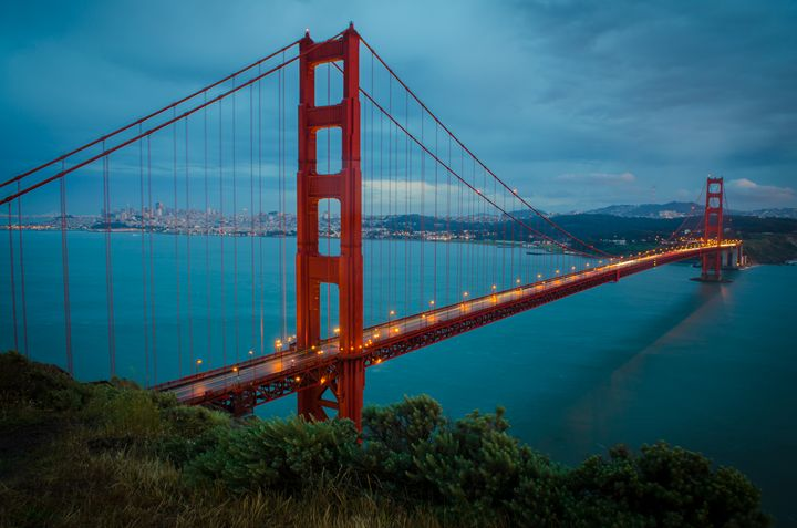 Golden Gate Blue - C.S. Wright Photography
