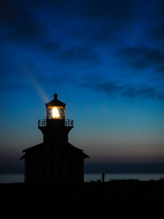 Sunset At Point Cabrillo - C.S. Wright Photography