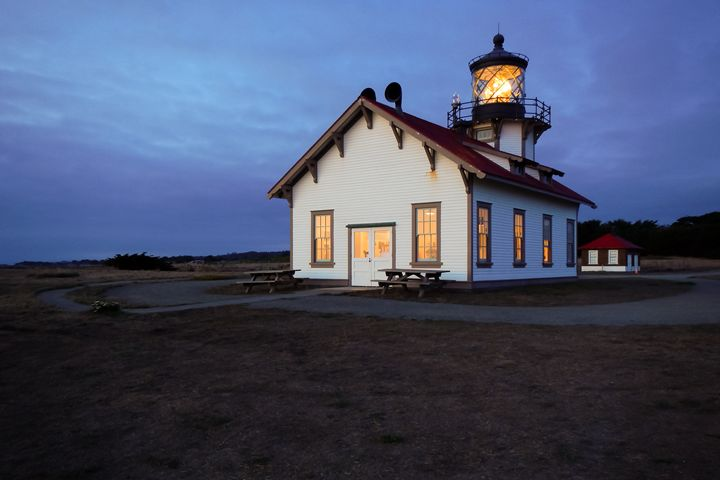 Point Cabrillo Evening - C.S. Wright Photography