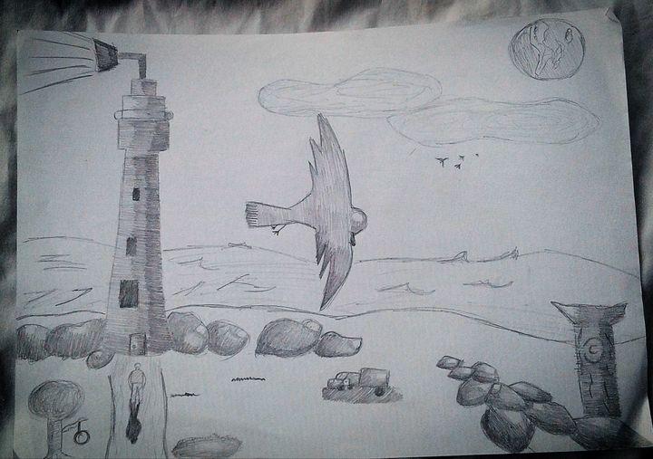 Sea Landscape - Kira Art