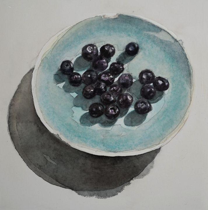 Blueberries - Anna Korteweg