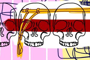 3 Knuckle Heads - Jaymie Metz Fine Art