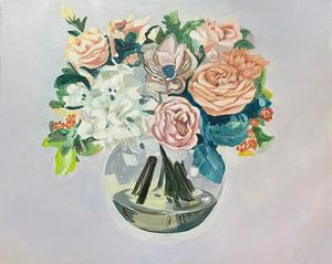 Assorted Flowers Rose Bowl