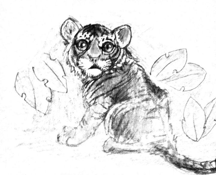 Baby Tiger - NaTasha Morrison