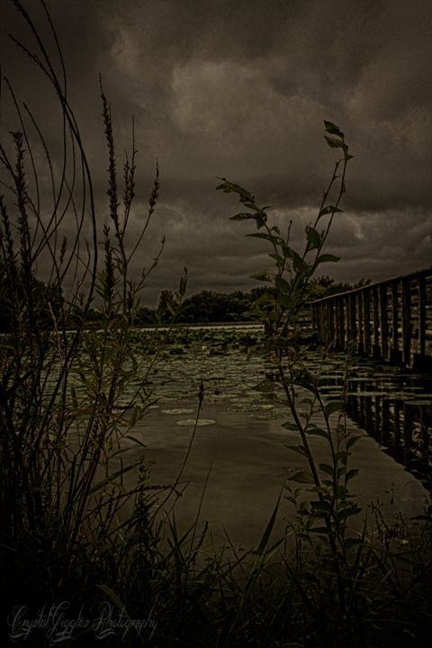 Stormy Lake - CrystalGigglesPhotography