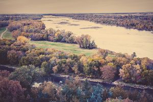 Autumn on the Platte River