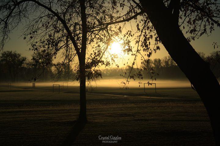 Early morning fog - CrystalGigglesPhotography