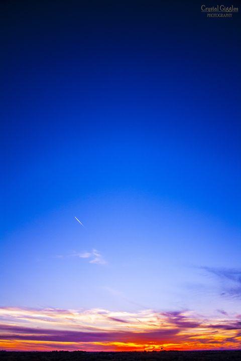 Horizon sunset - CrystalGigglesPhotography