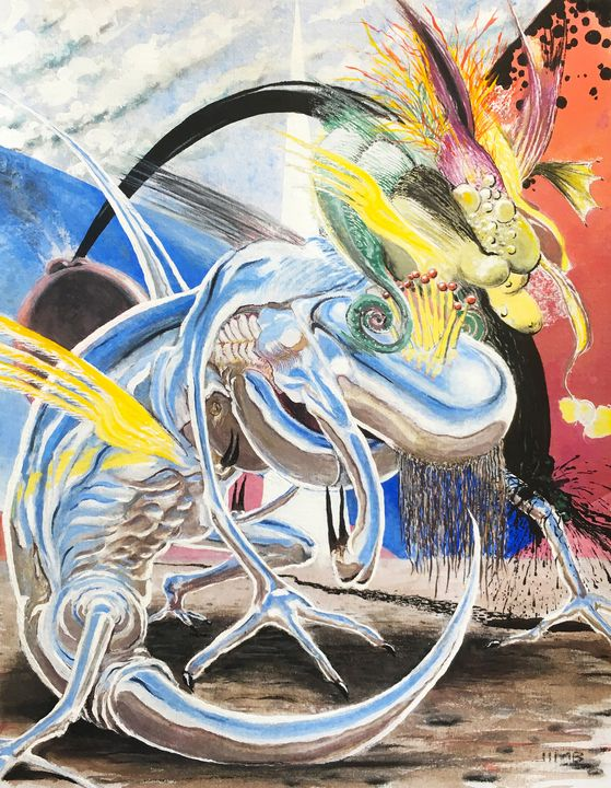 The Gizzard Lizard - Jimb Fisher