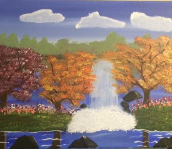 Fall Falls - Elizabeth Lynch