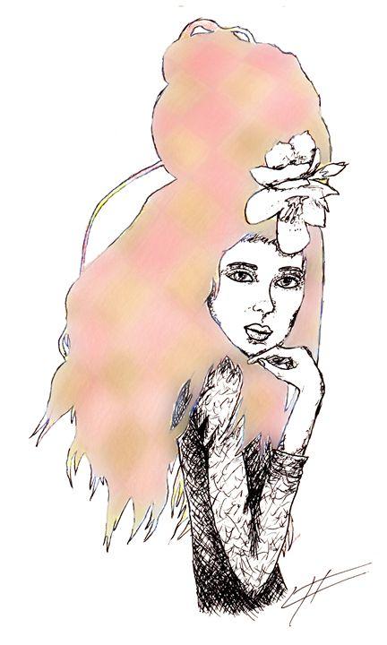 Hair Expression #3 - LilyKins' Art
