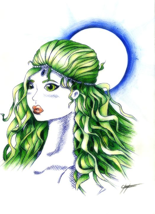 La Green Lady - LilyKins' Art