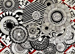 Mandalas in Red