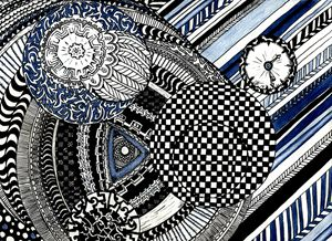 Mandalas in Blue