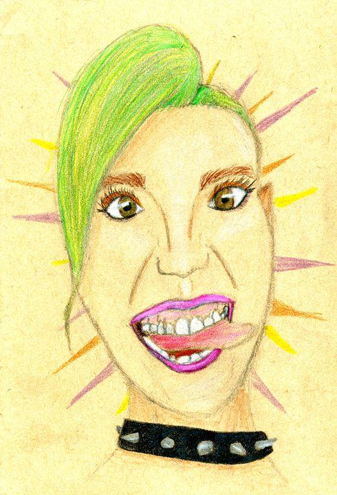 Crazy AF - LilyKins' Art