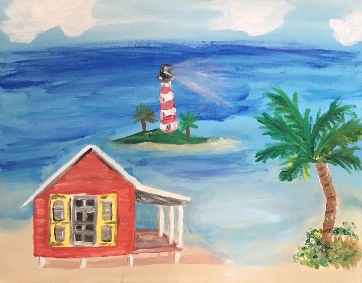 Beach Life - CAM art