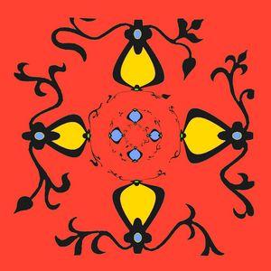 Géométrie colorée organisée ...
