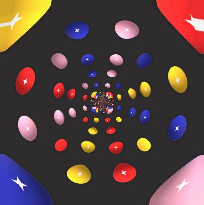 Des bombons colorés... - Adhésion