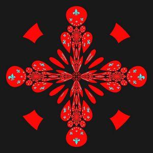 Symbole universel en rouge...