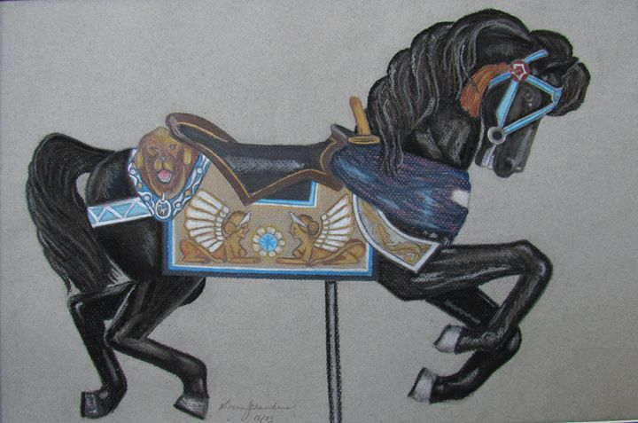 BLACK BEAUTY - D Chambers Art
