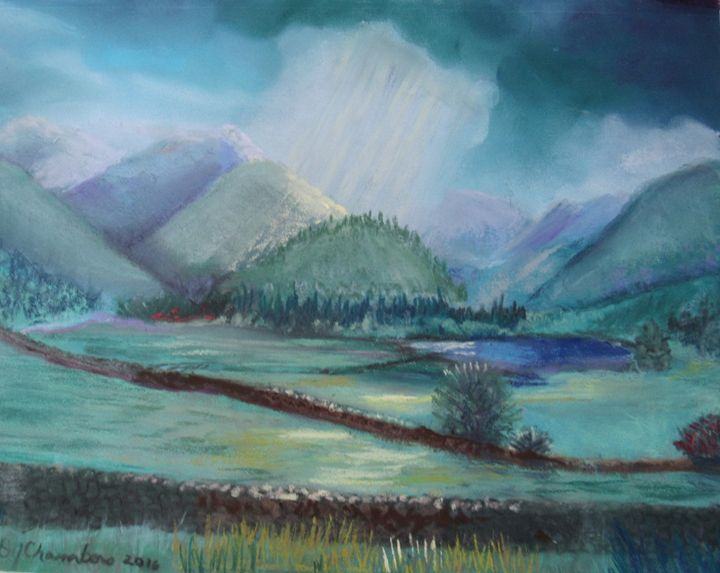 IRELAND IN SPRING - D Chambers Art