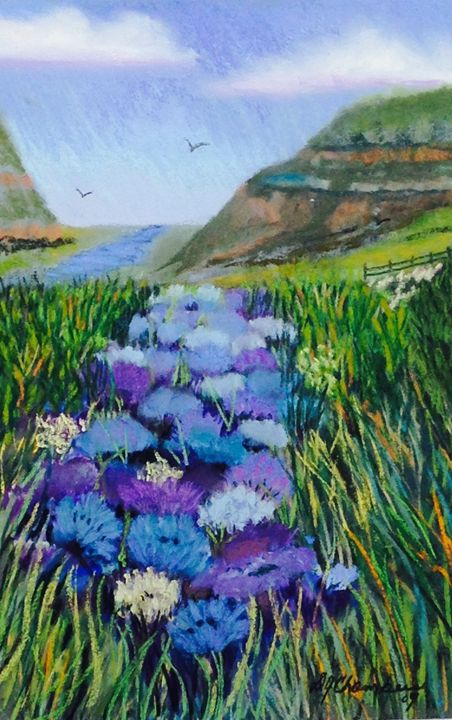 Flowers in the Valley - D Chambers Art