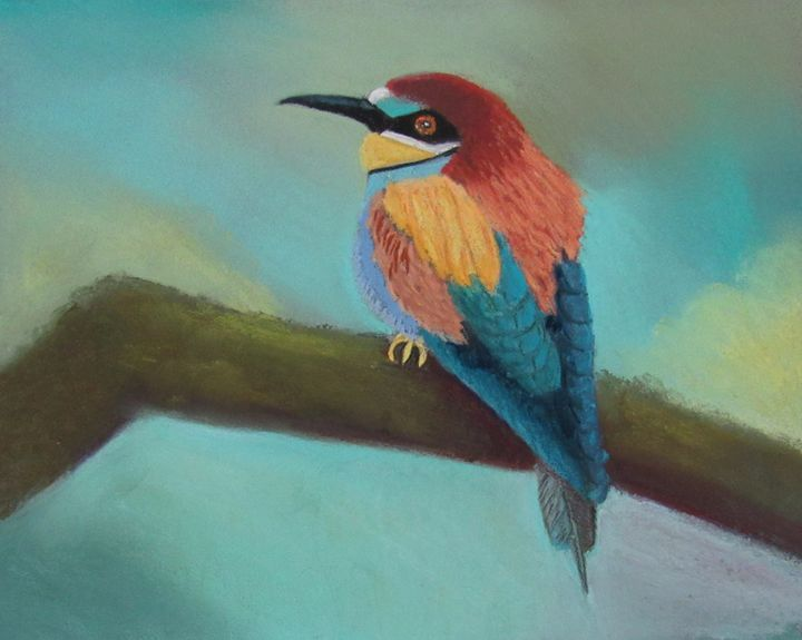 BEE EATER  MULTICOLOR - D Chambers Art