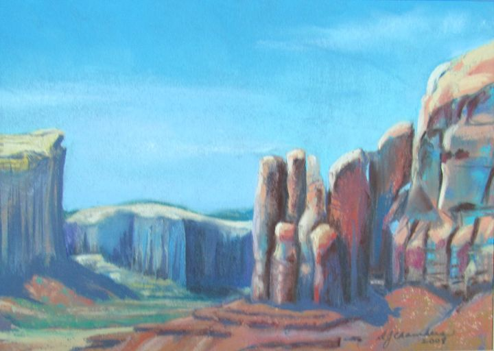 MONUMENT VALLEY - D Chambers Art