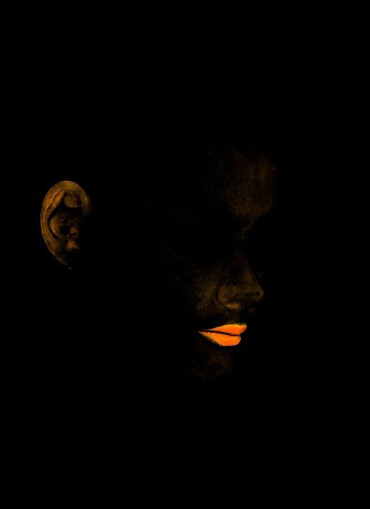 Neon lips - Anahi Clemens