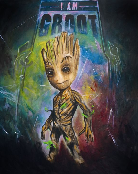 I am Groot - JamieBdesigns