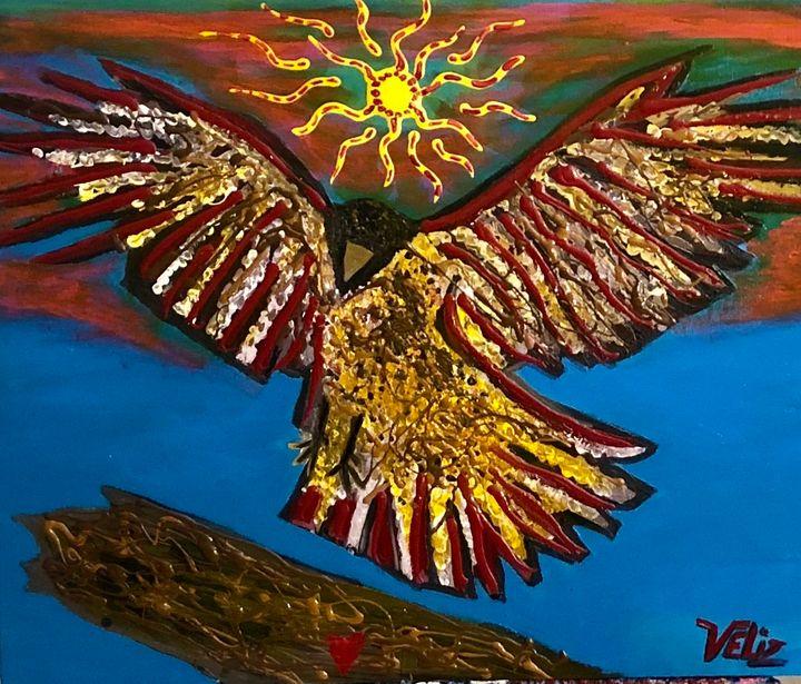 Two Feathers - Javier Veliz Jr
