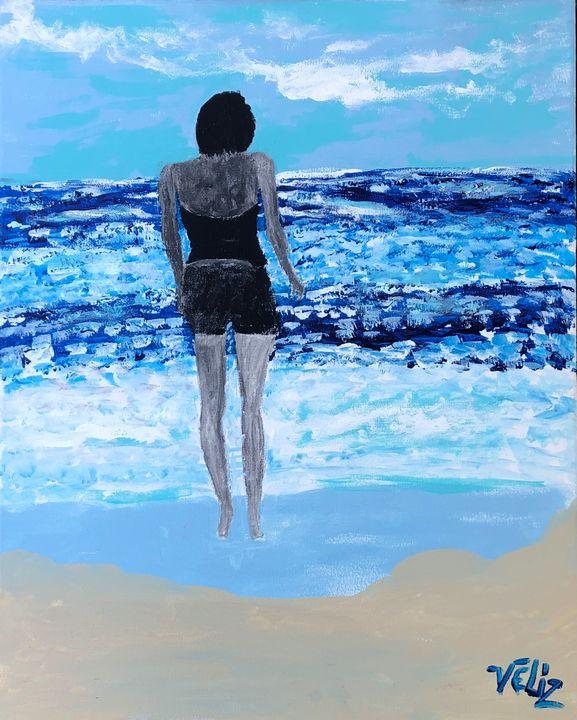 Beach Stroll - Javier Veliz Jr