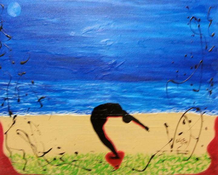 Blue Moon Back Bend - Javier Veliz Jr
