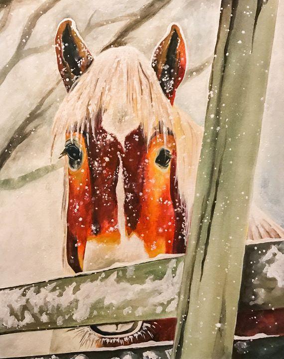 Colton - Fine Artist Julie Anna Freund