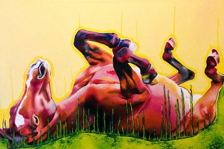 Gravity (Lander) - Fine Artist Julie Anna Freund