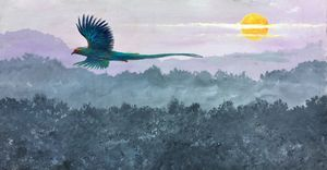 """Quetzal flight""."