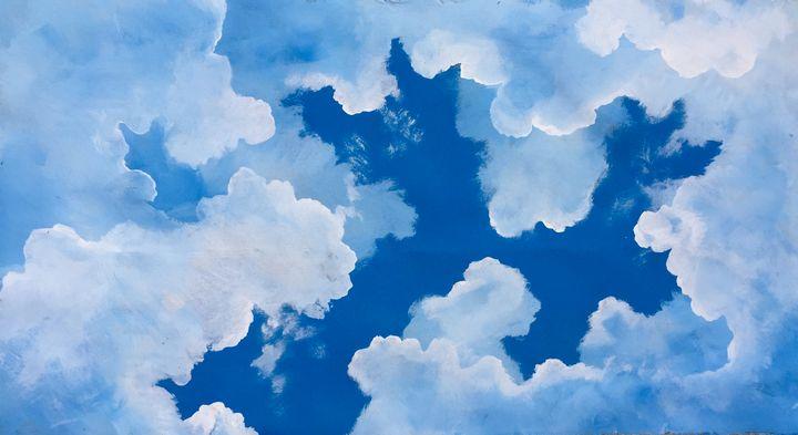 Cloudy blue sky - Rigel Sauri