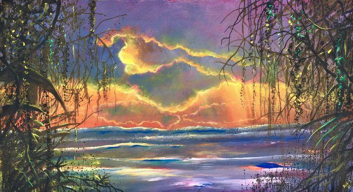 Caribbean sunset - Rigel Sauri