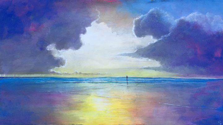Caribbean sunset 1 - Rigel Sauri