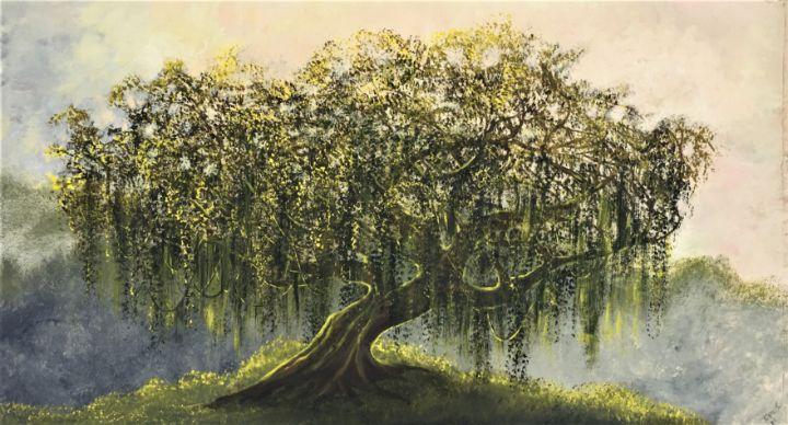 Tree on hilltop - Rigel Sauri