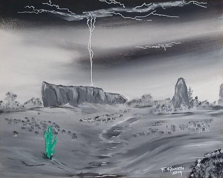 Desert Storm - F. Kenneth Art