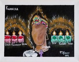 Kwanzaa's Spirit - F. Kenneth Art